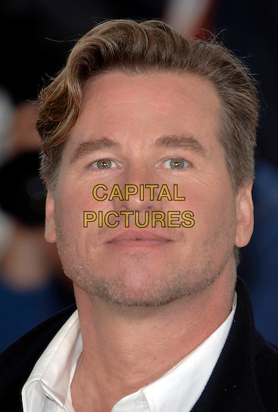"""VAL KILMER.""""Kiss Kiss Bang Bang"""" photocall.Cannes Film Festival, France.May 14th 2005.Ref: PL.portrait headshot stubble facial hair.www.capitalpictures.com.sales@capitalpictures.com.©Capital Pictures.."""