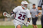 Los Angeles, CA 04/02/10 - Michael Hanover (LMU #25) in action during the UCSB-LMU MCLA SLC conference lacrosse game at Loyola Marymount University.