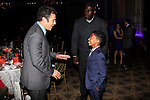 LOS ANGELES - DEC 6: Fred Savage, Jack Brown, Miles Brown at The Actors Fund's Looking Ahead Awards at the Taglyan Complex on December 6, 2015 in Los Angeles, California