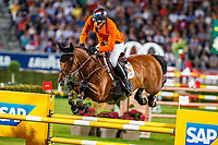 NED-Marc Houtzager rides Sterrehof's Calimero during the Mercedes-Benz CSIO5* Nationenpreis. 2019 GER-CHIO Aachen Weltfest des Pferdesports. Thursday 18 July. Copyright Photo: Libby Law Photography