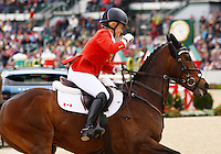 Hawley Bennett-Awad and #27 Gin & Juuice from Canada at the Rolex Three Day Event.   April 28, 2013..