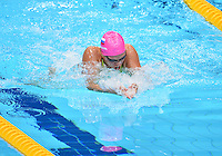 July 29, 2012..Iluiia Efimova of Russia competes in women's 100m Breaststroke semifinal event at the Aquatics Center on day two of 2012 Olympic Games in London, United Kingdom.