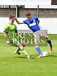 Drogheda United Luke Gallagher Ipswich Town Pat Webber. Photo:Colin Bell/pressphotos.ie