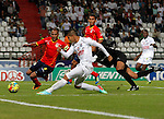 MANIZALES – COLOMBIA _ 02-04-2014 / En compromiso correspondiente a la fecha 14 del Torneo Apertura Colombiano 2014, Once Caldas venció 3 – 1 a Uniautónoma FC en el estadio Palogrande de Manizales. /