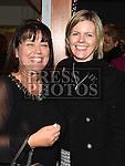 Fiona McDonald and Fiona Scully at Mornington Gospel Choir 20th anniversary show in the Droichead Arts Centre. Photo:Colin Bell/pressphotos.ie