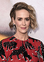 "BEVERLY HILLS, CA - APRIL 6:  Sarah Paulson at the For Your Consideration Red Carpet event for FX's ""American Horror Story: Cult"" at the WGA Theater on April 6, 2018 in Beverly Hills, California. (Photo by Scott Kirkland/Fox/PictureGroup)"
