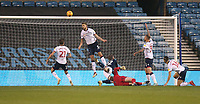 Bolton Wanderers' Mark Beevers clears off the line<br /> <br /> Photographer Rob Newell/CameraSport<br /> <br /> The EFL Sky Bet Championship - Millwall v Bolton Wanderers - Saturday 24th November 2018 - The Den - London<br /> <br /> World Copyright &copy; 2018 CameraSport. All rights reserved. 43 Linden Ave. Countesthorpe. Leicester. England. LE8 5PG - Tel: +44 (0) 116 277 4147 - admin@camerasport.com - www.camerasport.com