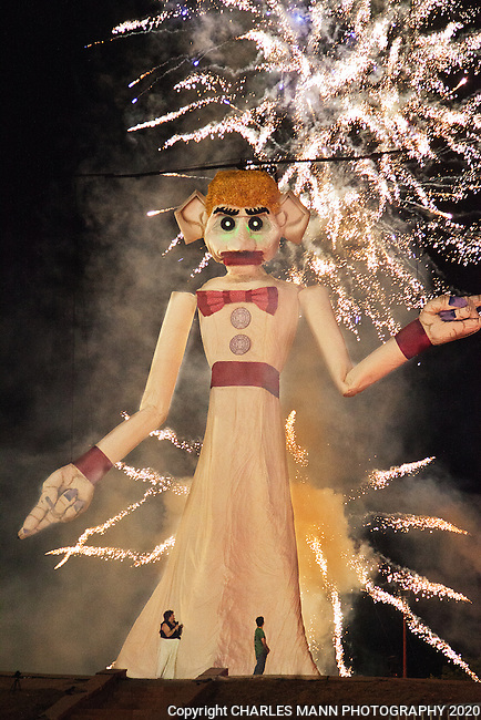 A unique Santa Fe tradition, the 88th burning of Zozobra or Old Man Gloom took place on September 6, 2012.