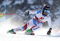 27th October 2019; Soelden, Austria; Mens FIS World Cup skiing, giant slalom;   Mens World Cup Giant Slalom Ski Opening Elia Zurbriggen SUI