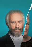 Promotional art with Glenn Close &amp; Jonathan Pryce in The Wife (2017)<br /> *Filmstill - Editorial Use Only*<br /> CAP/RFS<br /> Image supplied by Capital Pictures