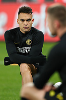 Lautaro Martinez of Inter during the warm up<br /> Napoli 06-01-2020 Stadio San Paolo <br /> Football Serie A 2019/2020 <br /> SSC Napoli - FC Internazionale<br /> Photo Cesare Purini / Insidefoto