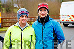Claudia Gordillo and Karin O'Shea, pictured at the Operation Transformation Walk at Tralee Bay Wetlands on Saturday morning last.