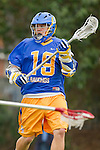 Los Angeles, CA 04/02/10 - Jamie Bridgman (UCSB #19) in action during the UCSB-LMU MCLA SLC conference lacrosse game at Loyola Marymount University.