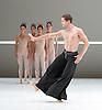 Dutch National Ballet <br /> Hans Van Manen - Master of Dance<br /> Grosse Fuge<br /> rehearsal / photocall<br /> 12th May 2011<br /> at Sadler's Wells. London, Great Britain <br /> <br /> Anu Viheriaranta<br /> Anna Tsygankova<br /> Igone de Jongh<br /> Marisa Lopez<br /> <br /> Alexander Zhembrovskyy<br /> <br /> Photograph by Elliott Franks