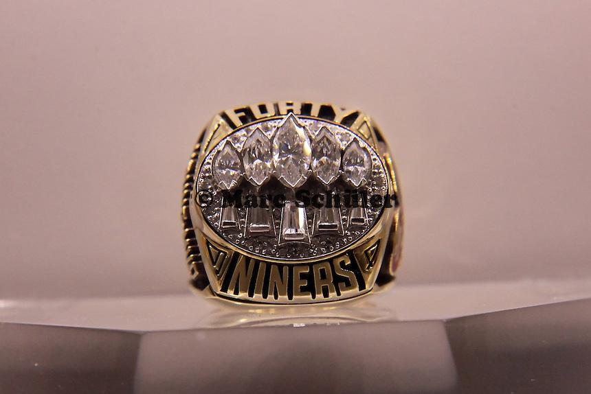 Super Bowl Ringe der einzelnen Siegerteams: XXIX San Francisco 49ers 1994