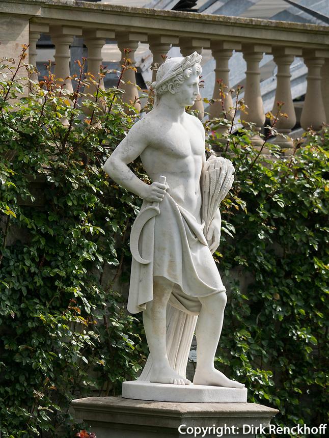 Statue, Bodensee - Insel Mainau, Baden-W&uuml;rttemberg, Deutschland, Europa<br /> Statue, Isle of Mainau, Lake Constance,Baden-W&uuml;rttemberg, Germany, Europe