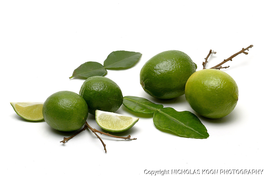 Limes still life.