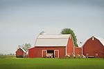 2135 Lange Road, Bern County, Michigan. Red Barn.