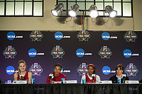 Stanford, CA - March 30, 2017: The Stanford Cardinal prepares for the Final Four 2017 in Dallas, Texas