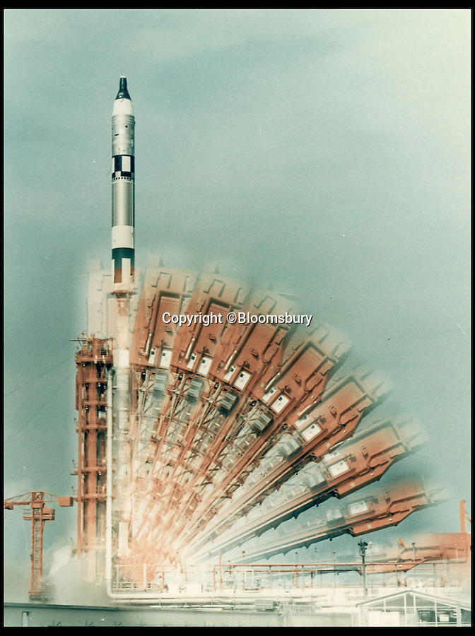 BNPS.co.uk (01202 558833)<br /> Pic: Bloomsbury/BNPS<br /> <br /> ***Please Use Full Byline***<br /> <br /> Lot 57: Time-exposure of Gemini 10 launch, July 1966. Est: £300. <br /> <br /> An out-of-this-world collection of vintage NASA photographs including the first ever snap from space and the first space selfie has emerged for sale for a whopping £500,000.<br /> <br /> The archive of more than 600 photographs, many of which are unseen, covers NASA's groundbreaking space programme from its beginnings in the late 1950s through to the triumphant moon landing of 1969 and beyond.<br /> <br /> The incredible collection of original photos has been painstakingly pieced together over several decades by a private collector.<br /> <br /> It is the first time such a comprehensive collection of vintage NASA photographs has ever been sold at auction.