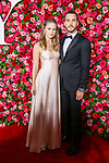 NEW YORK, NY - JUNE 10:  Melissa Benoist and Chris Wood attend the 72nd Annual Tony Awards at Radio City Music Hall on June 10, 2018 in New York City.  (Photo by Walter McBride/WireImage)