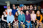 Thomas White, Tralee, seated, celebrated his 18th birthday last Saturday night in the Kingdom Greyhound stadium, Tralee along with friends and family.