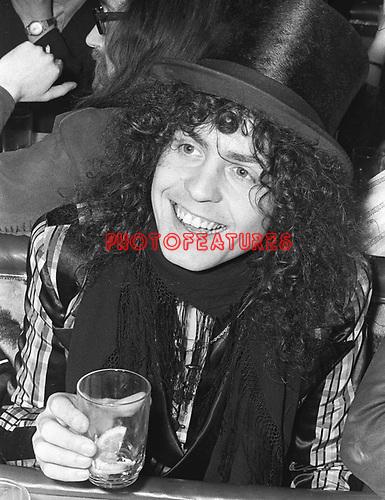 Marc Bolan T Rex 1970's.© Chris Walter.
