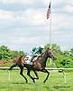 Bibby winning at Delaware Park on 7/22/15