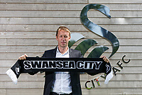 2018 06 11 New Swansea manager Graham Potter unveiled, Fairwood Training Ground, Wales, UK