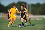 Germantown Legends U11 Black vs. U12 Soccer Ole Gold at Mike Rose Soccer Complex in Memphis, Tenn. on Monday, August 24, 2015. U12 Soccer Ole Gold won 5-4.