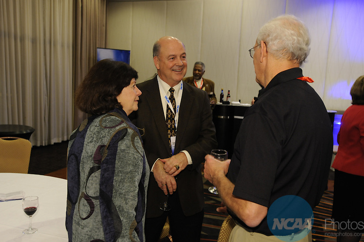 14 JAN 2010: Tom Jernstedt during the Delegates Reception at the 2010 NCAA Convention held at the Marriott Marquis and the Hyatt Regency in Atlanta, GA. Brett Wilhelm/NCAA Photos.