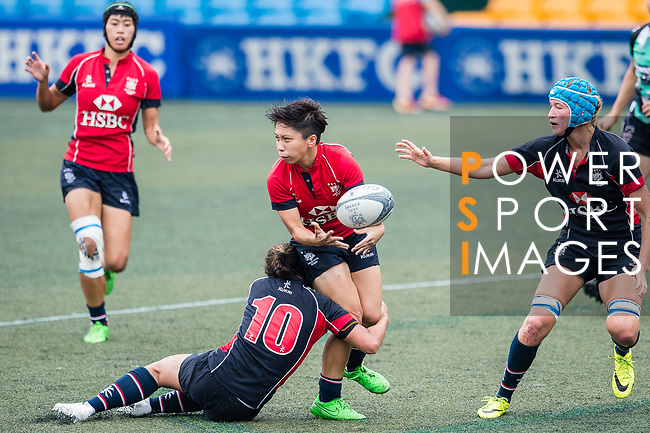 Lee Tsz Ting of Lions (C) in action during the Women's National Super Series 2017 on 13 May 2017, in Hong Kong Football Club, Hong Kong, China. Photo by Marcio Rodrigo Machado / Power Sport Images