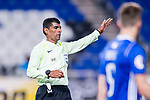 Fifa Referee Aali Hasan Ebrahim Abdulnabi gestures during the AFC Champions League 2017 Group E match between  Ulsan Hyundai FC (KOR) vs Muangthong United (THA) at the Ulsan Munsu Football Stadium on 14 March 2017 in Ulsan, South Korea. Photo by Chung Yan Man / Power Sport Images