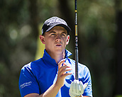 10th February 2018, Lake Karrinyup Country Club, Karrinyup, Australia; ISPS HANDA World Super 6 Perth golf, third round; Grant Forrest (SCT)