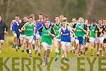 Paul O'Sullivan Colaiste na Sceilge heads the field in the u16 boys race at the Kerry Vocational School's Cross Country athletic championships in Killarney on Friday