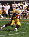 Pittsburgh Steelers Jerome Bettis (36) during a game from his 2002 season with the Pittsburgh Steelers. Jerome Bettis played for 13 seasons with 2 different team, was a 6-time Pro Bowler and was inducted into the Pro Football Hall of Fame in 2015.(SPORTPICS)