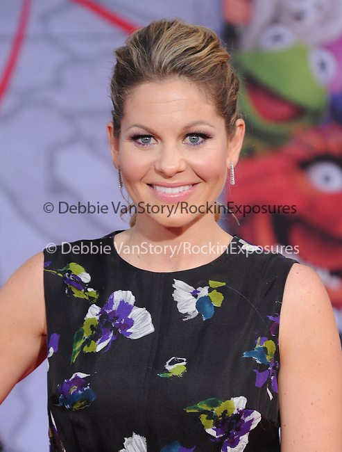 Candace Cameron Bure attends Disney's Muppets Most Wanted World Premiere held at The El Capitan Theatre in Hollywood, California on March 11,2014                                                                               © 2014 Hollywood Press Agency