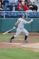 July 16, 2008:  The Eugene Emeralds' Derek Shunk at-bat during a Northwest League game against the Everett AquaSox at Everett Memorial Stadium in Everett, Washington.