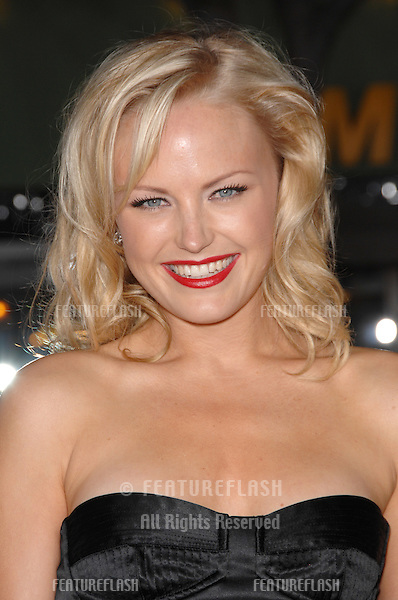 """Malin Akerman at the Los Angeles premiere of her new movie """"The Heartbreak Kid"""" at Mann's Village Theatre, Westwood, CA..September 28, 2007  Los Angeles, CA.Picture: Paul Smith / Featureflash"""