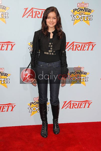 """Ariel Winter<br /> at Variety's 3rd Annual """"Power of Youth,"""" Paramount Studios, Hollywood, CA. 12-05-09<br /> David Edwards/DailyCeleb.com 818-249-4998"""