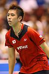 Kenichi Tago (JPN), SEPTEMBER 21, 2013 - Badminton : Yonex Open Japan 2013 Men's Singles semi-fainal at Tokyo Metropolitan Gymnasium, Tokyo, Japan. (Photo by AFLO SPORT) [1156]