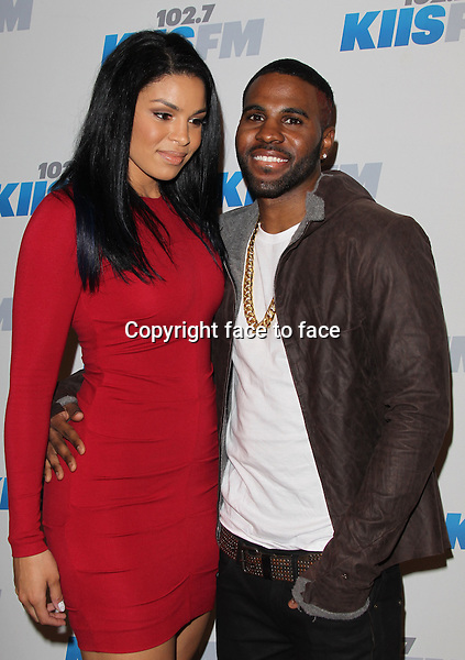 Jordin Sparks and Jason Derulo at day 2 of KIIS FM's 2012 Jingle Ball at Nokia Theatre, Los Angeles, 03.03.2012...Credit: MediaPunch/face to face..- Germany, Austria, Switzerland, Eastern Europe, Australia, UK, USA, Taiwan, Singapore, China, Malaysia and Thailand rights only -
