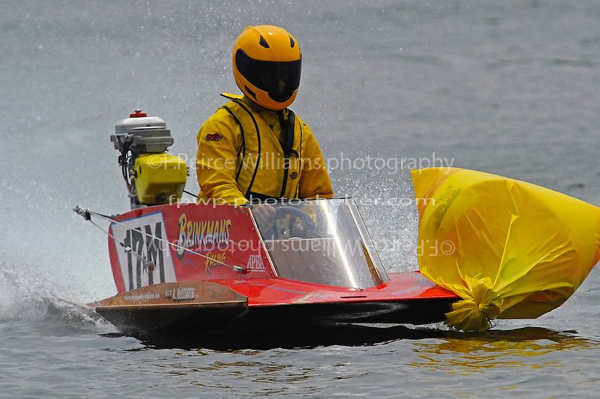 Andy Tate (17-M) returns to the pits with something extra. (hydro)