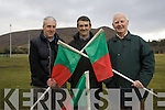 Tuosist GAA club has made it big time following the news that a film of the club will feature as  part of a new exhibition at the Croke Park GAA museum which will be viewed by hundreds of thousands of people. .L-R Chairman Michael O'Sullivan Island, Treasurer Stephen O'Shea and Secretary Michael Murphy