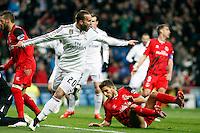 Jesse of Real Madrid during La Liga match between Real Madrid and Sevilla at Santiago Bernabeu Stadium in Madrid, Spain. February 04, 2015. (ALTERPHOTOS/Caro Marin) /NORTEphoto.com