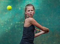 Hilversum, Netherlands, August 7, 2017, National Junior Championships, NJK, Fenna Douwes<br /> Photo: Tennisimages/Henk Koster
