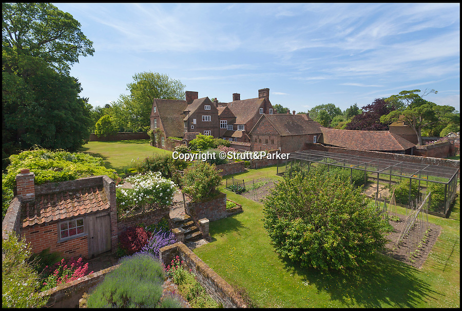BNPS.co.uk (01202 558833)<br /> Pic: Strutt&Parker/BNPS<br /> <br /> A charming manor house that has been in the same family for the last 200 years is now on the market for only the third time in its history.<br /> <br /> Tunstall House, a Grade I listed building in the pretty village of Tunstall, near Sittingbourne in Kent, is a rare gem in that its ownership can be traced over five centuries back to its origins.<br /> <br /> The grand home, which has been passed down through generations, is now being sold through Strutt & Parker with a guide price of £1.975million.<br /> <br /> Estate agent Edward Church said it is a mark of what a special house it is that the families who have lived there have not wanted to sell it.
