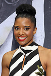 "Renee Elise Goldsberry attends the Broadway Opening Night Performance for ""Beetlejuice"" at The Wintergarden on April 25, 2019  in New York City."