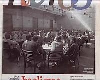 Liberatio Newspaper, France.