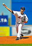 7 March 2009: New York Mets' pitcher Dillon Gee on the mound during a Spring Training game against the Washington Nationals at Tradition Field in Port St. Lucie, Florida. The Nationals defeated the Mets 7-5 in the Grapefruit League matchup. Mandatory Photo Credit: Ed Wolfstein Photo